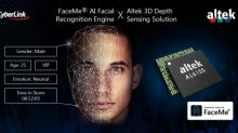 CyberLink FaceMe® Provides Altek with Highly Secure 3D Anti-Spoofing Facial Recognition Solution