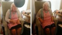 Grandma's rude reaction to gender reveal goes viral
