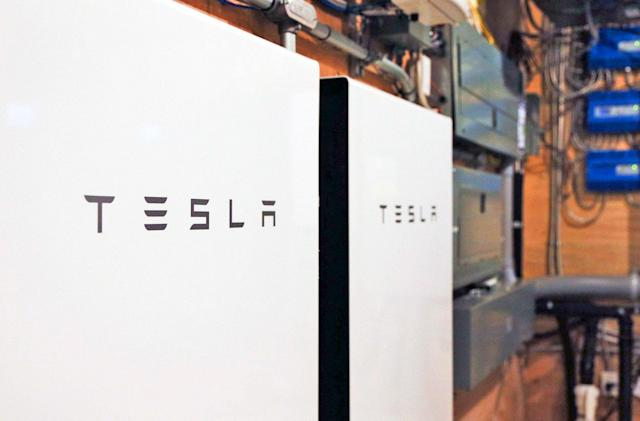 Tesla's Powerwall can store energy ahead of storms