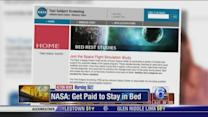 NASA want to pay you to stay in bed