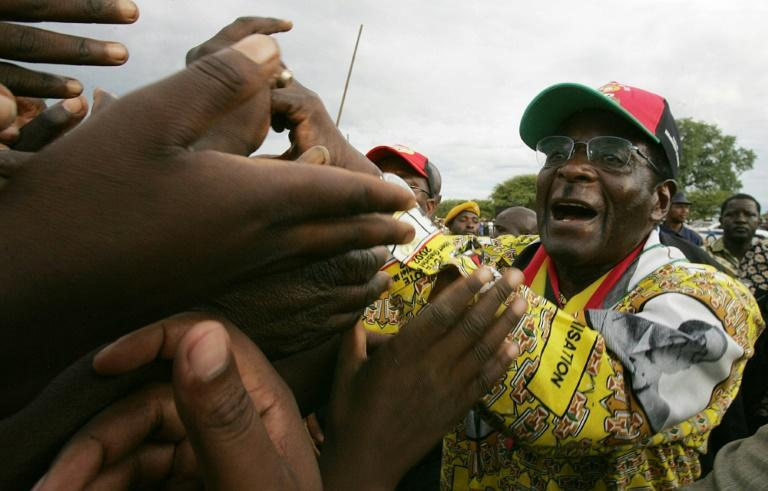Allies and relatives said Moyo say the once-feared Zimbabwe autocratic suddenly changed after his ouster (AFP Photo/ALEXANDER JOE)