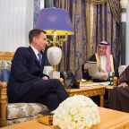 In Riyadh, Britain's Hunt calls for Khashoggi justice, end to Yemen war