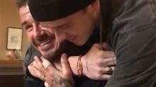 David Beckham Is Moved to Tears After Son Brooklyn Surprises Him for His 43rd Birthday