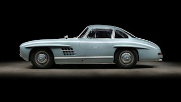 再戰60年!Mercedes 300SL Gullwing翻修後恢復完美姿態