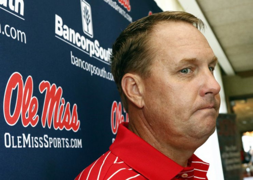 Hugh Freeze resigned as head coach at Ole Miss on July 20. (AP)