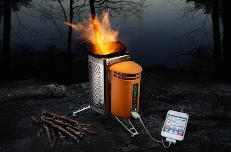 Charge your iPhone while you cook with the BioLite CampStove