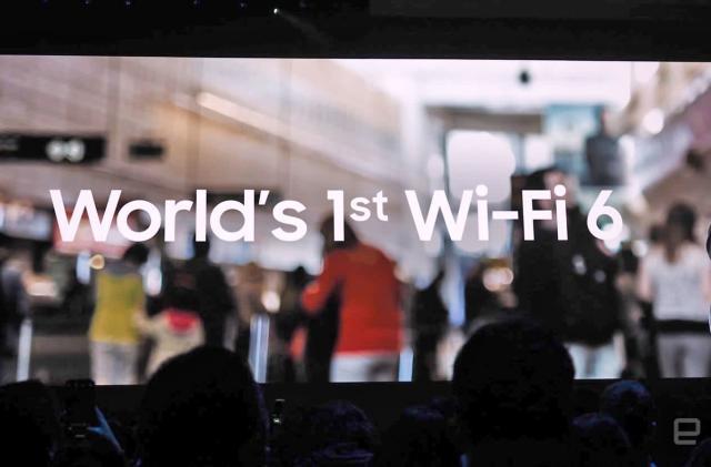 Samsung's Galaxy S10 provides a sneak peek at WiFi's future