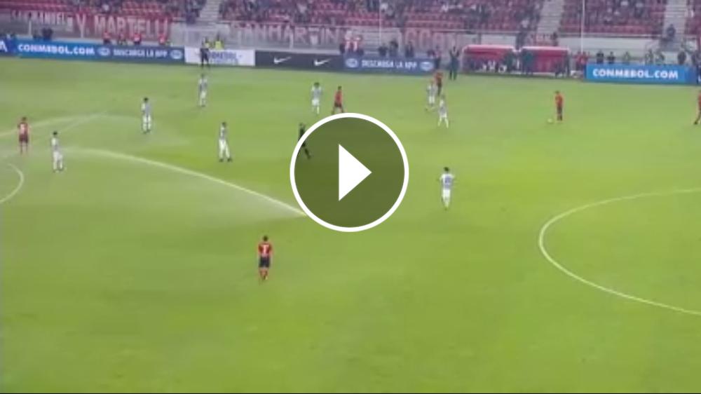 VÍDEO: Independiente - Alianza Lima, parado por los aspersores
