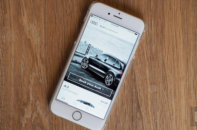 Audi's concierge-based car rental service is outstanding but pricey