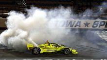 Auto - Indycar - Indycar : parti dernier, Simon Pagenaud s'impose finalement dans l'Iowa