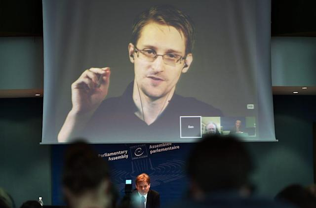 Europe's lawmakers suggest giving Snowden amnesty