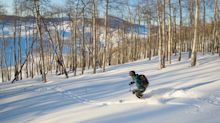 Inside the new off-piste American ski resort with no lifts