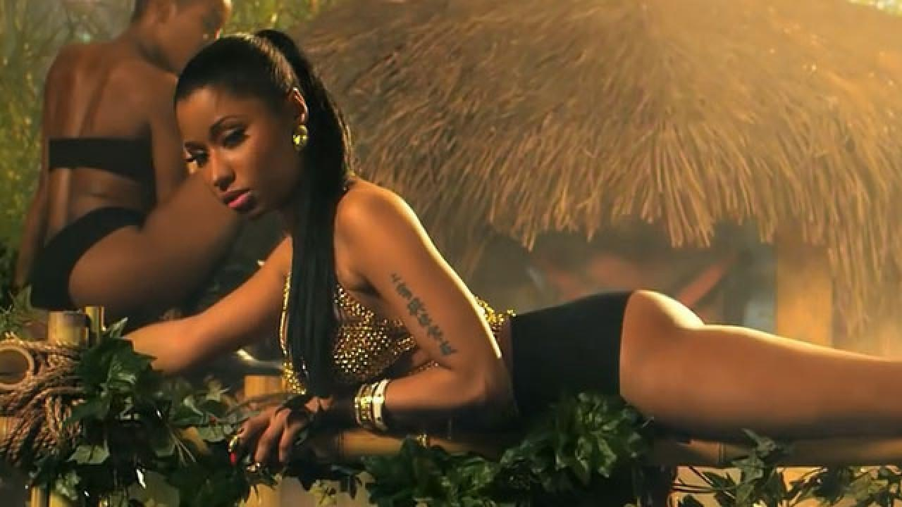 Anaconda Movie Hot Scene exclusive: nicki minaj's stylists talk 'anaconda': pink g