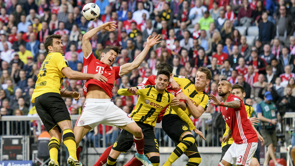 La maldición del Bayern Munich: ¡Lewandowski salió lesionado!