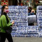 Armed gang steals toilet rolls in panic-buying Hong Kong