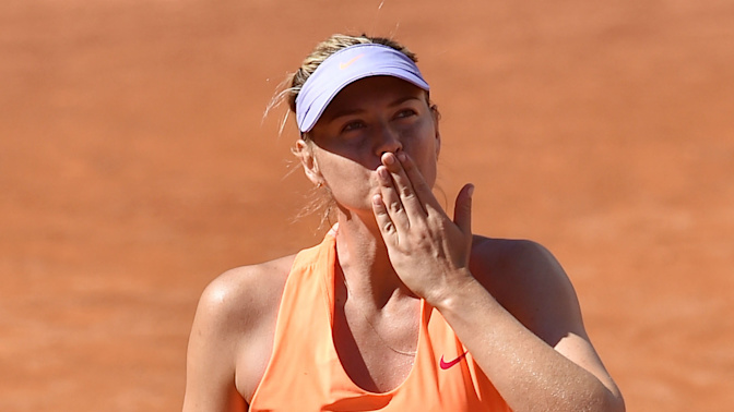 Hurt Sharapova vows to bounce back