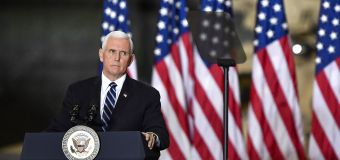 Uncertain future for Pence, a 'man without a home'