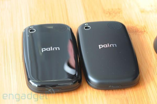 Palm Pre's Touchstone charger requires matte, soft-touch battery cover