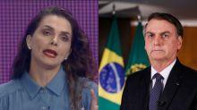 """Amigo de Luiza Ambiel sobre memes que a comparam com Bolsonaro: """"Não são engraçados"""""""
