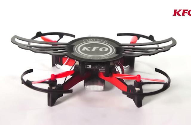 KFC is selling a chicken wing box that doubles as a drone