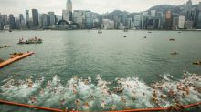 Hong Kong annual harbour swim cancelled due to pandemic