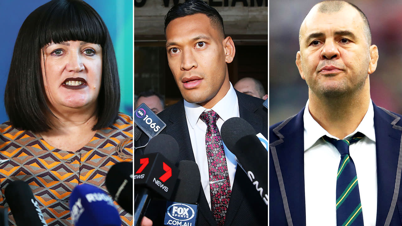 'Legal case in chaos': Fresh Israel Folau twist in Aussie rugby crisis