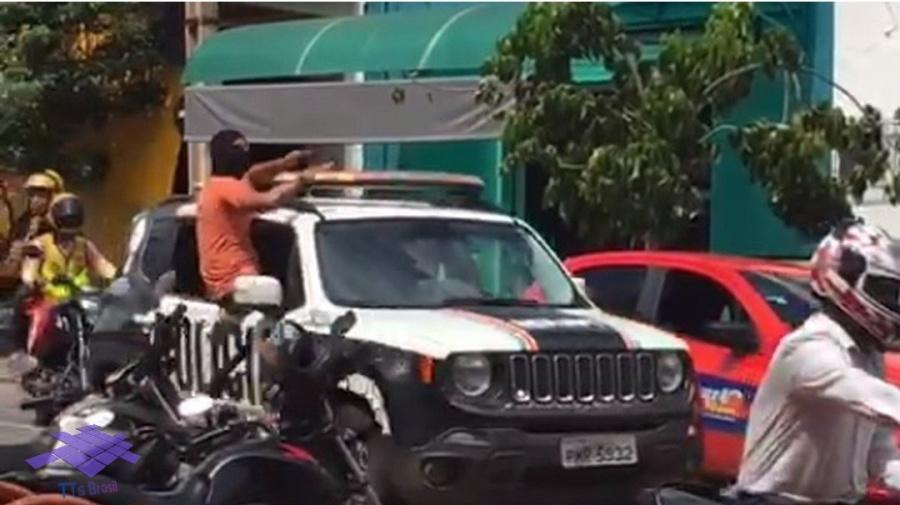 Brasil todo vive tensão em relação com a polícia