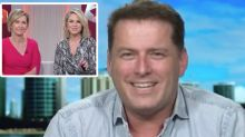 Karl Stefanovic's very awkward return to Today show