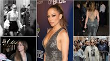 Jennifer Lopez rocks 7 sexy outfits in one day