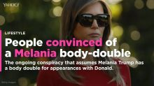 People are convinced Melania has a body double