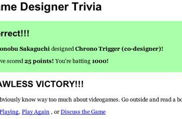 Test your game designer knowledge, impress your friend