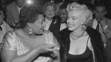 Cómo Marilyn Monroe luchó contra el racismo ayudando a Ella Fitzgerald
