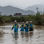 Japan typhoon death toll rises to 43 as over 110,000 emergency workers scramble to rescue stranded people