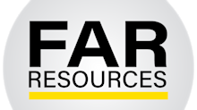 REPEAT - FAR Resources Confirms Bonanza Sampling Gold 41.5 g/t Au With Silver 4610.0 G/T Ag, on Its Winston Project New Mexico on Its Newly Staked Claims