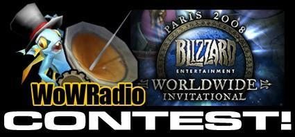 WoW Radio Pass the Torch contest on August 8