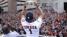 Astros' World Series trophy damaged during fundraiser in Houston