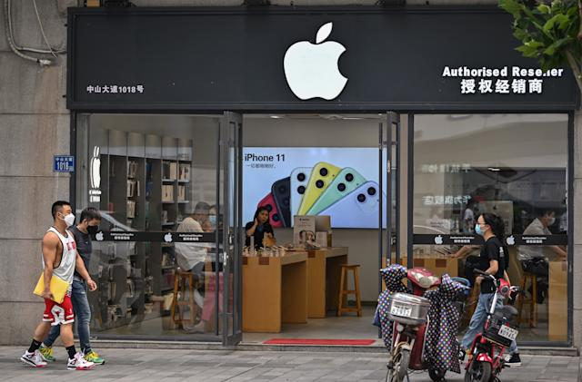 Apple stops updates for thousands of games in China's App Store
