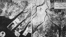 75 años de los bombardeos de Hiroshima y Nagasaki: fotos del antes y el después