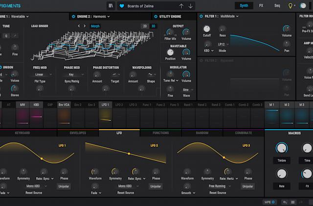 Arturia gives its Pigments super synth a massive free update