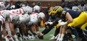 Ohio State plays Michigan. (Getty Images)
