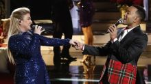 John Legend and Kelly Clarkson's controversial Christmas duet leaves some 'Voice' viewers cold