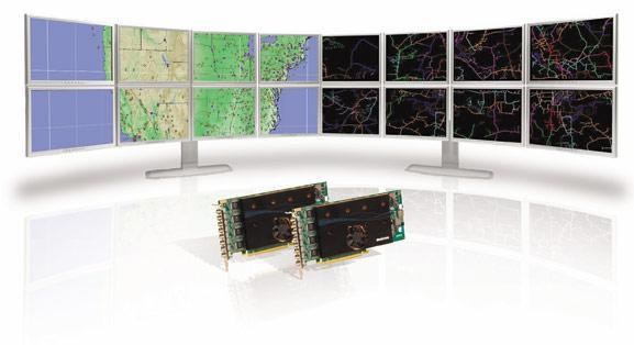 Matrox pushes eight displays with a single-slot PCIe x16 GPU