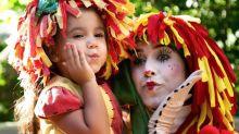 Deborah Secco compartilha clique fofo da filha vestida de Emília