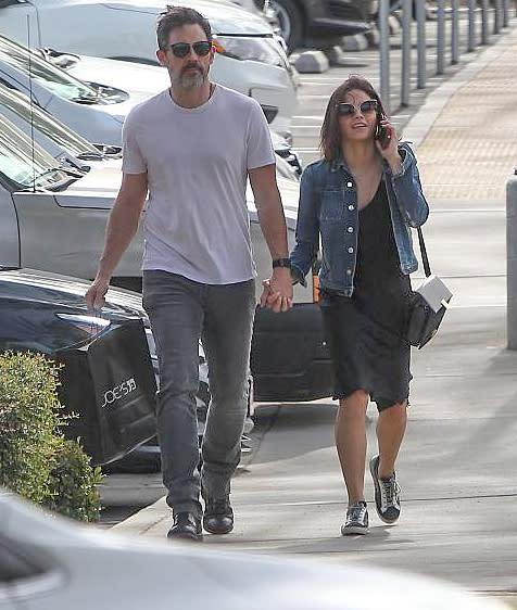 Jenna Dewan and Boyfriend Steve Kazee Step Out for the