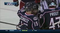 Nick Foligno tallies from his stomach