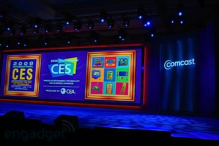 Live from the Comcast keynote at CES