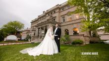 Bride Poses in 5 Family Wedding Dresses — One Is Over 100 Years Old