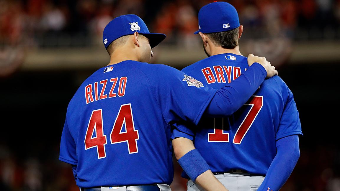Cubs lose Kris Bryant and Anthony Rizzo in the span of a couple minutes