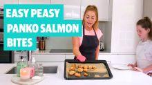 Easy Peasy: How to make panko salmon bites