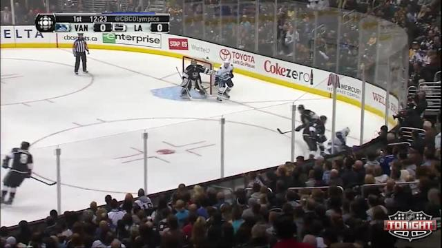 Vancouver Canucks at Los Angeles Kings - 01/04/2014